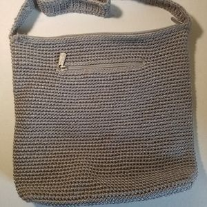 Gray Knitted The Sak Strap Pursed